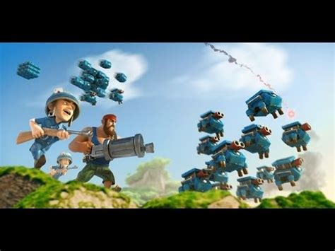 foto de Boom Beach HQ level 17 YouTube
