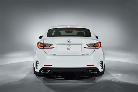 lexus sports car rc lexus rc f sport rear