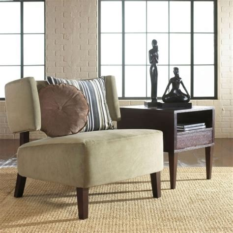 vintage narrow accent chair for living room chairs