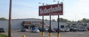 sutherlands home improvement stores