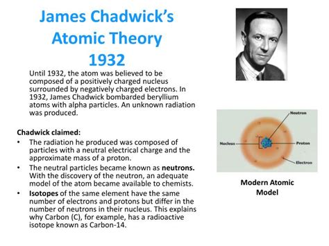 PPT - Each box below illustrates an atomic model proposed