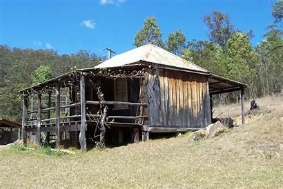 Hut Slab Wollombi Barns Australian Wikipedia Build