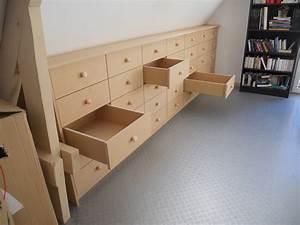 Meuble Pour Comble : meuble pour sous pente id es de ~ Edinachiropracticcenter.com Idées de Décoration