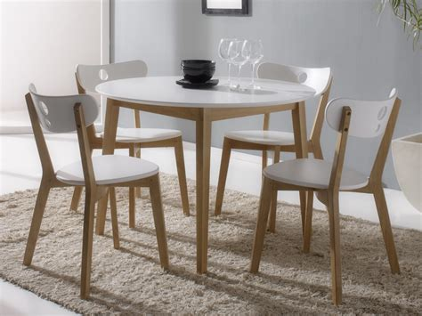 table a manger ronde extensible maison design foofaq