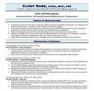 Professional IT Resume Resume Writing Guild Information Technology IT Job Resume Sample Pg2 This Sample And Most Of The Other Resume Examples On This Website Were Professional Level Resume Samples