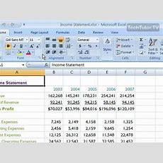 Insert A New Worksheet In Excel 2007 Youtube