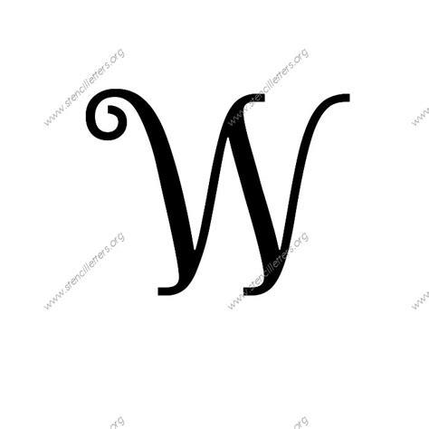 exquisite fine cursive uppercase lowercase letter