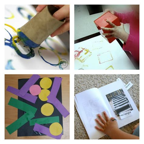 easy shape activities for 2 and 3 year olds