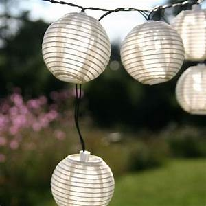 Garten Lampions Wetterfest : solar lichterkette kugel sandhell ~ Frokenaadalensverden.com Haus und Dekorationen