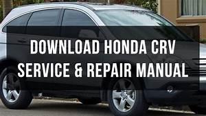 Honda Crv Service Manual Pdf