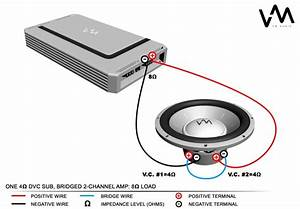 4 Ohm Dual Voice Coil Wiring Diagram With One 4ohm Dvc Sub