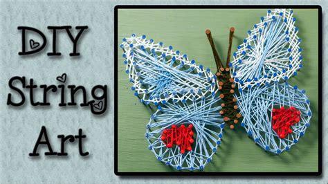 string art tutorial  easy art project  kids youtube