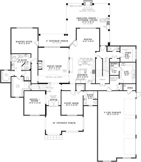 home plans and more eliza place luxury home plan 055d 1021 house plans and more