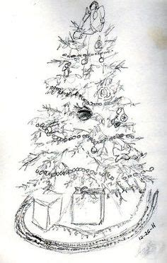 pencil drawings christmas trees 1000 images about tree sketch on tree sketches sketching and sketches