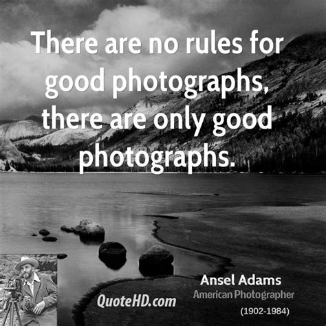 Famous Quotes By Ansel Adams. Quotesgram