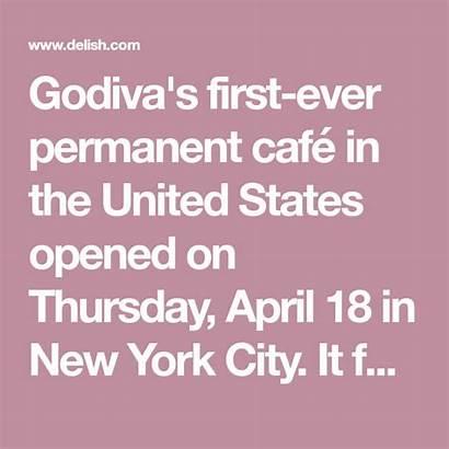 Godiva Delish Nyc Cafe