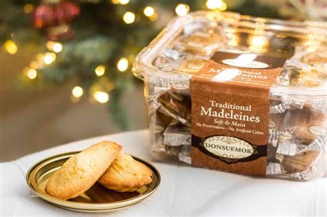 Madeleines are moist and tender sponge cakes that have a. Donsuemor Traditional Madeleines Soft & Moist 1.75lb - Lucky Lion