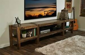 Meuble Tv Rustique : meuble tv rustique id es de d coration int rieure ~ Nature-et-papiers.com Idées de Décoration