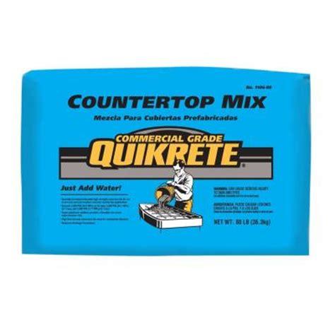 countertop concrete mix quikrete 80 lb grade countertop concrete mix