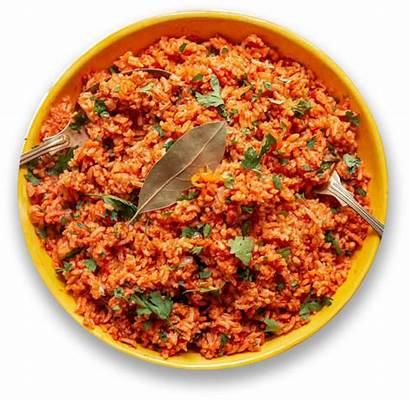 Rice Menu Bowl Jollof Beans Egg Yam