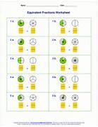 Equivalent Fractions Worksheet Grade 4 Below You Can See Examples Of The Variety Of The Worksheets