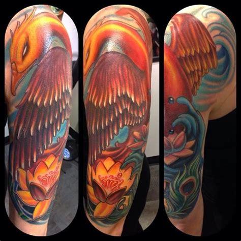 fantasy phoenix tattoo  mike woods