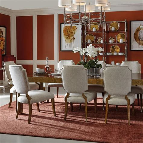 classic dining mercer modern classic dining room set kathy kuo home igf usa
