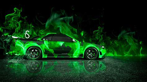 Nissan Gtr Wallpaper Green by Nissan Skyline Gtr R34 Car 2013 El Tony