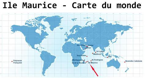Ou Se Situe L Ile Maurice Sur La Carte Du Monde by Carte Du Monde Ile Maurice Imvt