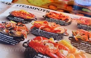 Joe's Crab Shack Steam Pots