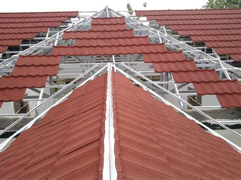 distributor jual genteng metal roof galvalume berpasir