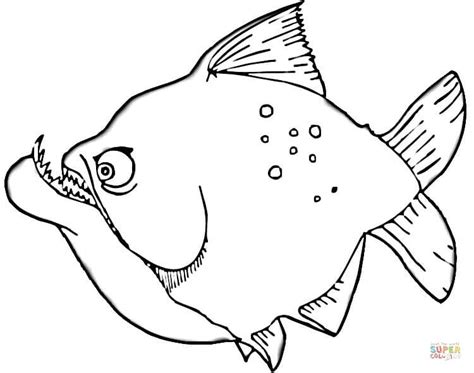Broodschappers Kleurplaat by Piranha Coloring Page Free Printable Coloring Pages