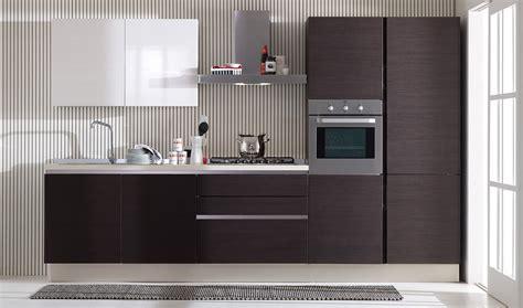 cocinas lineales la combinacion de colores cocinas