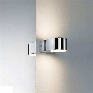 Wandleuchte Up Down : led wandleuchte up and down lichtaustritt 2x 3 5 watt led wohnlicht ~ Whattoseeinmadrid.com Haus und Dekorationen