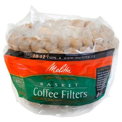The best way to make a single cup of coffee is the same way i recommend for making any number of cups of coffee: Melitta Basket Coffee Filters - Natural Brown - 100 Filters, 10-12 Cups   Walmart Canada