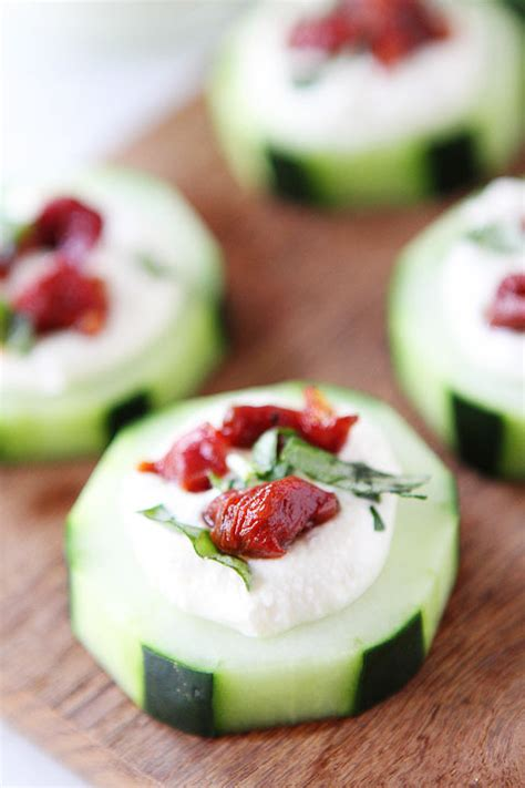 cucumber canapes cucumber canapés with feta feta recipe