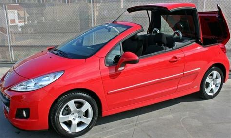 2012 Peugeot 207 Cc 1.6 Hdi Cabriolet 4 Seater Hard Top