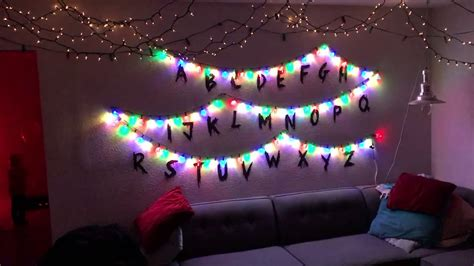 diy stranger  interactive christmas lights youtube