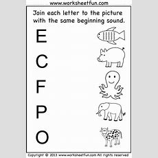 Beginning Sound  7 Worksheets  Preschool Worksheets  Pinterest  Kindergarten Worksheets