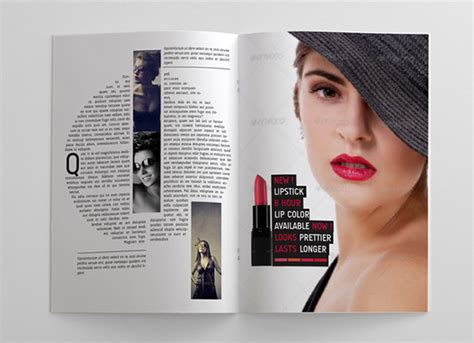 stylish page 24 pages woman magazine on behance
