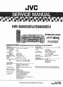 Jvc Hr S8600 S9600 Service Manual Download  Schematics
