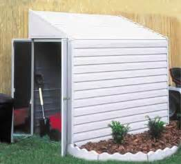 yardsaver 4 x7 arrow small outdoor metal storage shed kit