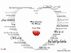 Love in Different Languages : Desktop and mobile wallpaper ...