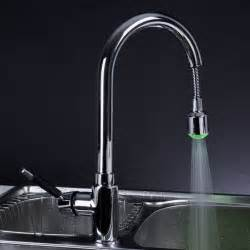 kitchen faucets brushed nickel chrome led pull out kitchen faucet modern kitchen