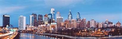 Philadelphia Panorama Pennsylvania Annual Center Nj Hill