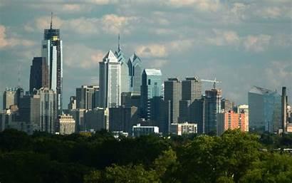 Philadelphia Skyline Desktop Wallpapers Downtown 1920 1080