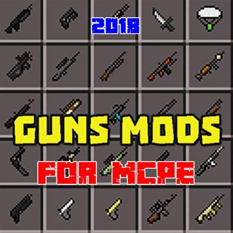 mods  gun mod  mcpe playgamesly