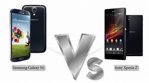 Samsung Galaxy S4 Vs Sony Xperia Z - Comparison of Design ...