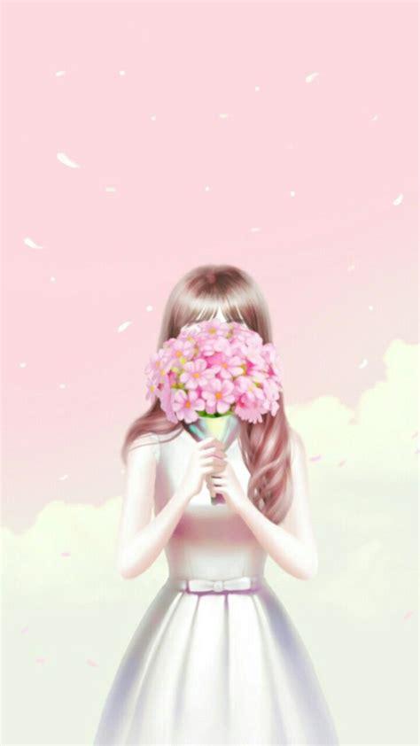 gambar kartun korea girl seribu animasi