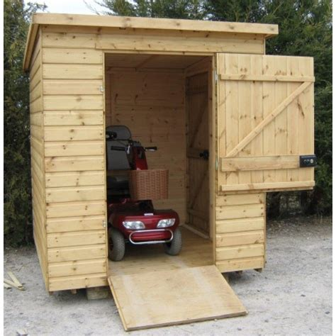 Mobility Scooter Storage Shed by Mobility Sheds
